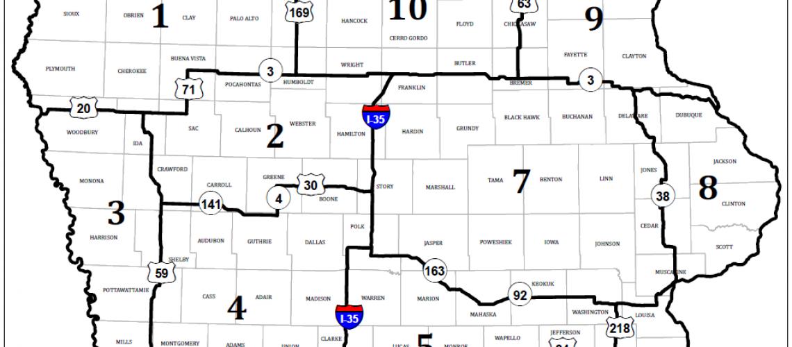 Iowa-Deer-Hunting-Zones-Map